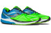 saucony Ride 9 Running Shoes Men Slime/Blue/Black